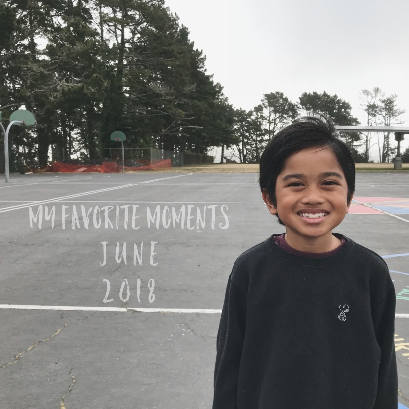 My Favorite Moments – June'18